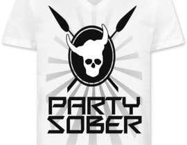 hassanahmad93 tarafından Design a T-Shirt for Party Sober Clothing için no 33
