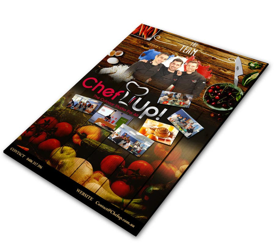 Penyertaan Peraduan #17 untuk Design a Brochure for School activities for Kids