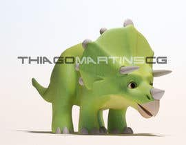 #22 untuk Do some 3D Modelling for  a cute baby dinosaur oleh thiagomartins84