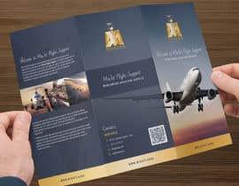 #10 untuk Design a Brochure for aviation service company oleh ARdesignLV