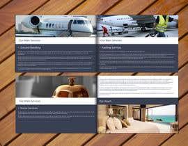 #1 untuk Design a Brochure for aviation service company oleh LyonsGroup