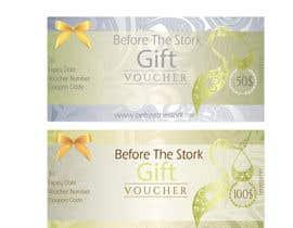 #20 untuk Design a Gift Voucher for Maternity Store oleh hicherazza