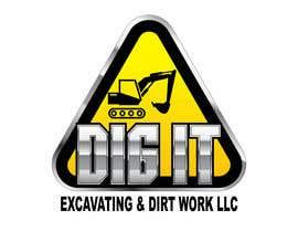 #65 untuk Design a Logo for DIG IT Excavating and Dirt Work oleh RomartDev
