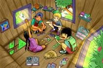 Illustrations for a Children's Book için Graphic Design24 No.lu Yarışma Girdisi
