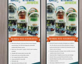 #7 untuk Design a Flyer for OKO H20 products oleh achinsk