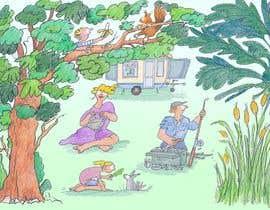 bennashcartoons tarafından Illustrate Something for Children's Book - camping theme için no 9