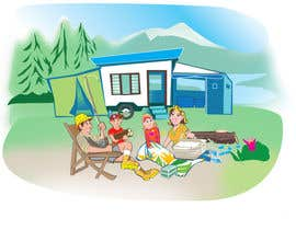 caloylvr tarafından Illustrate Something for Children's Book - camping theme için no 19