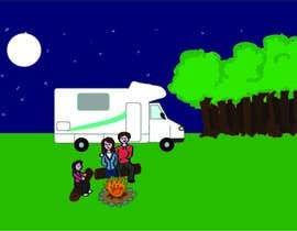 giselarodrigues tarafından Illustrate Something for Children's Book - camping theme için no 27