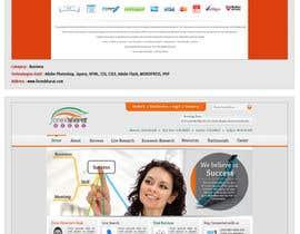 nº 22 pour Design a Website Mockup par sangeeta01