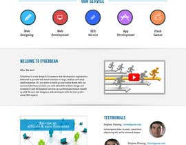 #6 for Design a Website Mockup by helixnebula2010