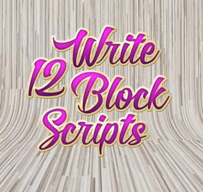 #22 untuk Write12BlockScripts oleh mariusadrianrusu