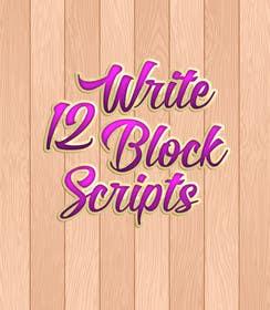 #24 untuk Write12BlockScripts oleh mariusadrianrusu