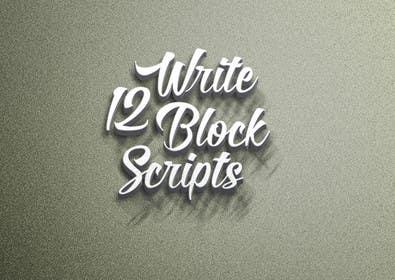 #25 untuk Write12BlockScripts oleh mariusadrianrusu