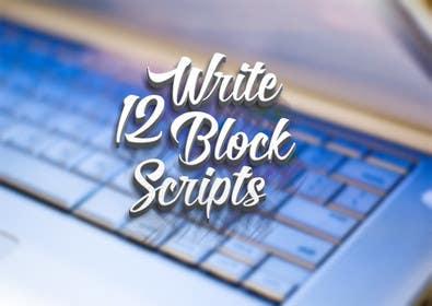 #32 untuk Write12BlockScripts oleh mariusadrianrusu