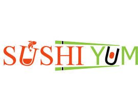 #27 untuk Design a Logo/Sticker and Menu/Flyer for Sushi Yum oleh LogoDesignPro