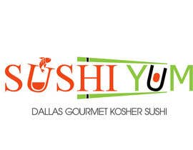 #28 untuk Design a Logo/Sticker and Menu/Flyer for Sushi Yum oleh LogoDesignPro