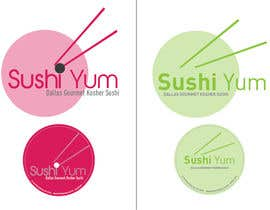 #29 for Design a Logo/Sticker and Menu/Flyer for Sushi Yum by Jgarisch12