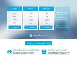 #4 untuk Concevez une maquette de site Web oleh batitix