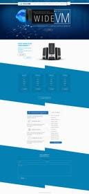 #1 untuk Concevez une maquette de site Web oleh logodesire