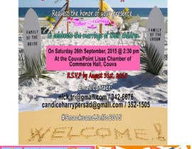 #14 untuk Design a beach theme wedding invitation oleh kington7