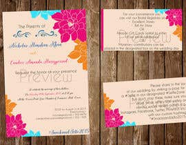 #12 untuk Design a beach theme wedding invitation oleh jessickaroweena