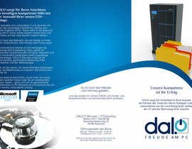 #16 para CREATIVE DESIGN of brochure for DALO por barinix