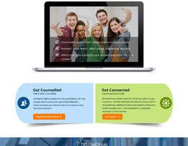 Modeling15 tarafından Design a Website Mockup for MeetUniv.Com için no 2