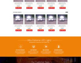 nikil02an tarafından Design a Website Mockup forhttp://extremeledlightz.ca/ için no 8