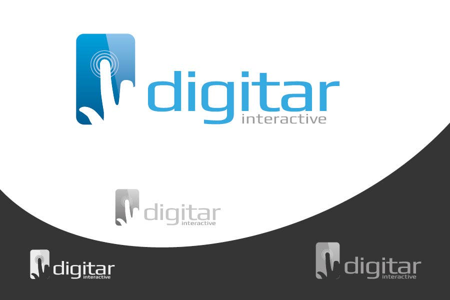#130 for Design a Logo for Digitar Interactive by krustyo