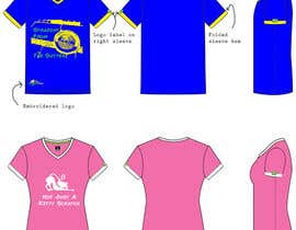 #38 untuk Range of shirts for male and female oleh Kirstinemhansen