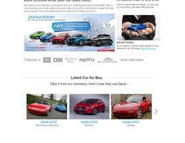 lassoarts tarafından Design a landing page Mockup for Car Quotes Online için no 25