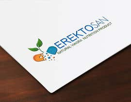 #80 untuk Design of a Logo for Natural Viagra ED Nutrition with Brand Name EREKTOSAN oleh cristinaa14