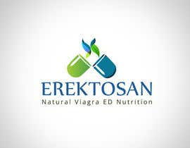 #101 untuk Design of a Logo for Natural Viagra ED Nutrition with Brand Name EREKTOSAN oleh pixypox