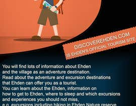 #2 untuk Design a Flyer for discoverehden.com oleh Mohamedsaa3d