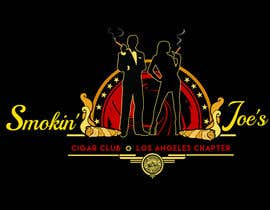 #13 untuk Design a Logo for Smokin' Joe's Cigar Club Los Angeles Chapter. oleh KilaiRivera
