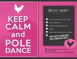 azizagoda tarafından Promotional postcard - Pole Dance Studio için no 9