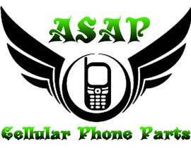 lovewithus tarafından Design a Logo for ASAP Cellular Phone Parts için no 1