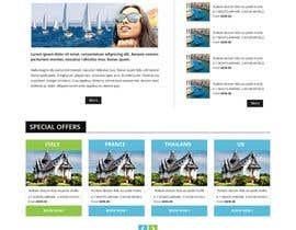 #34 untuk Design Website for Travel Agency oleh RahidSaiyad