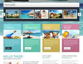 #9 untuk Design Website for Travel Agency oleh NextTechSol