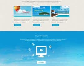 #5 untuk Design Website for Travel Agency oleh halaidesigns