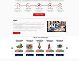 nikil02an tarafından Design a Website Mockup for an existing site için no 24