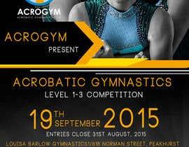 #11 untuk Design a Flyer for An Acrobatic Gymnastics Invitational Competition oleh adidoank123
