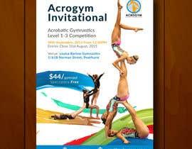 #19 untuk Design a Flyer for An Acrobatic Gymnastics Invitational Competition oleh leandeganos