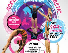 #15 untuk Design a Flyer for An Acrobatic Gymnastics Invitational Competition oleh vyncadq