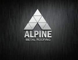 creativeg55 tarafından Design a Logo for Alpine Metal Roofing için no 72