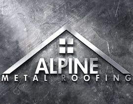 donajolote tarafından Design a Logo for Alpine Metal Roofing için no 29