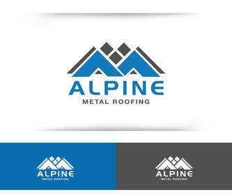sdartdesign tarafından Design a Logo for Alpine Metal Roofing için no 49