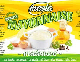 #22 for Design a label for Mayonnaise in jars by mirceawork
