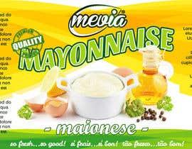 #22 untuk Design a label for Mayonnaise in jars oleh mirceawork