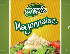 #19 for Design a label for Mayonnaise in jars by elixirman